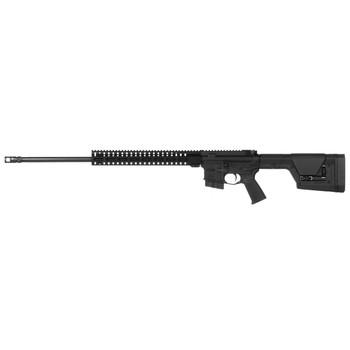 "CMMG Mk4 DTR, Semi-automatic Rifle, 224 Valkyrie, 24"" Salt Bath Nitride Barrel, Black Finish, PRS Stock, 10Rd 6.8Spc Magazine, Ambidextrous Safety And Charging Handle, Geissele SSA Trigger, CMMG RML14 MLOK Rail, SV Brake 25AB216, UPC :816422020317"