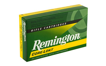 Remington Core Lokt, 7x57, 140 Grain, Pointed Soft Point, 20 Round Box 29031, UPC : 047700053707