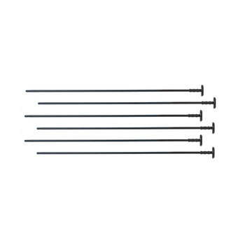 Gun Storage Solutions Rifle rods, 22cal, 6 pack RR6EXP, UPC :856691002027