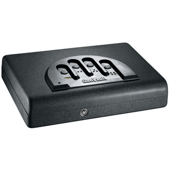 "GunVault Biometric MicroVault Safe, 11""x8""x2"", Black MVB500, UPC :751077123177"