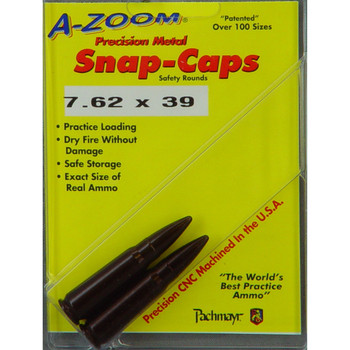 A-Zoom Snap Caps, 762x39, 2 Pack 12234, UPC :666692122347