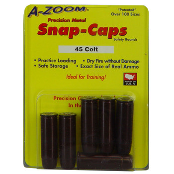 A-Zoom Snap Caps, 45LC, 6 Pack 16124, UPC :666692161247