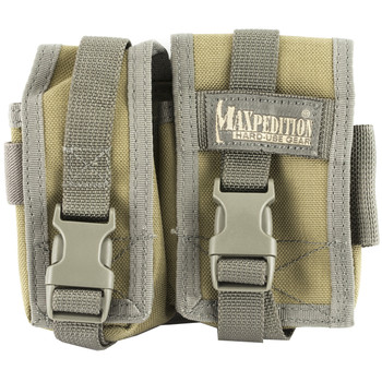 Maxpedition TC-7 Waistpack, Khaki and Foliage Green, Nylon PT1031KF, UPC :846909012757