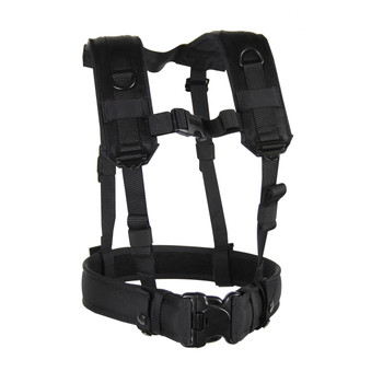 BLACKHAWK! S.T.R.I.K.E. Suspender/Harness, Black 35LBS1BK, UPC :648018005077