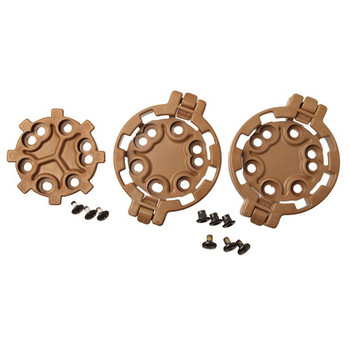 BLACKHAWK! SERPA Quick Disconnect Modular Drop-Leg Platform Kit, Includes 2 Female and 1 Male Adaptor, Coyote Tan 430950CT, UPC :648018120237