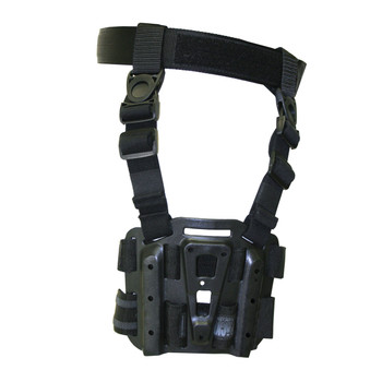 BLACKHAWK! Tactical Drop-Leg SERPA Holster Platform, Black 432000PBK, UPC :648018014987