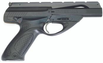 "Beretta NEOS U22, Single Action, Full Size, 22LR, 4.5"" Barrel, Polymer Frame, Blue Finish, Grey Rubber Inlay, Adjustable Sights, 10Rd, 2 Magazines JU2S45B, UPC : 082442807577"