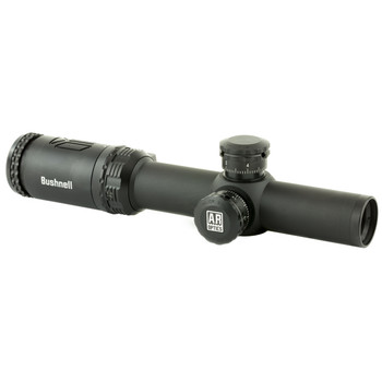 Bushnell AR Optics, Rifle Scope, 1-4X24mm, Drop Zone 223 Reticle, Black Finish AR71424, UPC : 029757003157