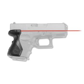 Crimson Trace Corporation Hi-Brite Laser Grip, Fits Glock 26,27,33 Generation 4, User Installed LG-852, UPC :610242002757