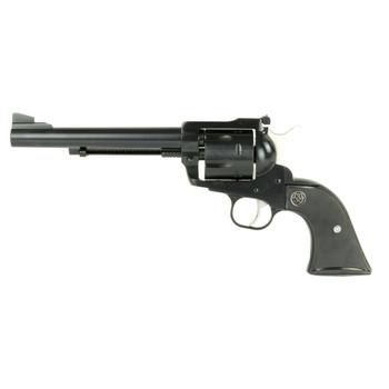 "Ruger Blackhawk, Single-Action Revolver, 357 Mag, 6.5"" Barrel, Blued Finish, Alloy Steel, Black Checkered Hard Rubber Grips, Adjustable Rear & Ramp Front Sight, 6Rd 00316, UPC :736676003167"