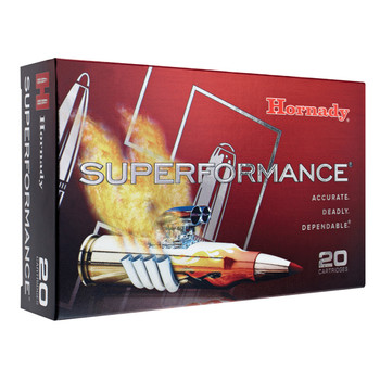 Hornady Superformance, 30-06, 165 Grain, SST, 20 Round Box 81153, UPC : 090255811537