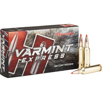Hornady Varmint Express, 6mm Creedmoor, 87 Grain, V-Max, 20 Round Box 81393, UPC : 090255813937