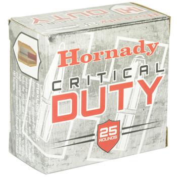 Hornady Critical Duty, 9MM +P, 124 Grain, FlexLock Duty, 25 Round Box 90216, UPC : 090255902167