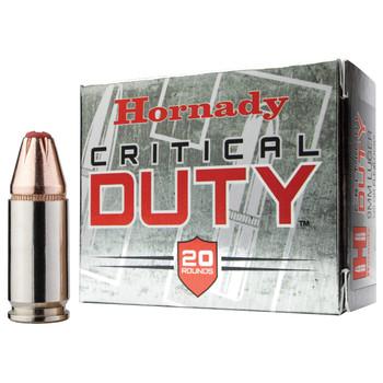 Hornady Critical Duty, 40S&W, 175 Grain, FlexLock Duty, 20 Round Box 91376, UPC : 090255913767