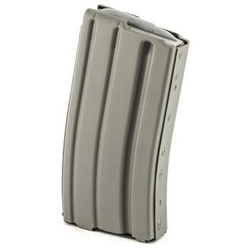 Ammunition Storage Components Magazine, 223 Rem, Fits AR-15, 20Rd, Aluminum, Gray 223-20RD-AL-G, UPC :818805011417
