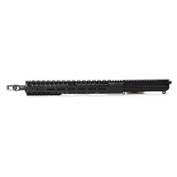 "Radical Firearms Complete Upper Assembly, 458 Socom, 16"" Barrel, .936 Gas block, 15"" MHR Handguard, Panzer Muzzle Brake, Black Finish, Includes Charging Handle and Bolt Carrier Group CFU16-458SOC-15MHR, UPC :816903027217"