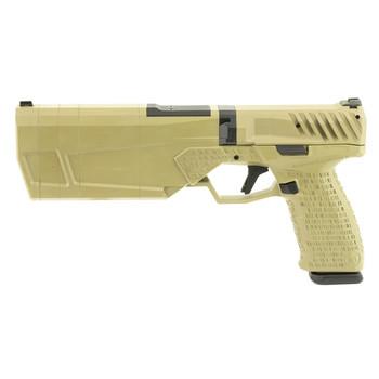 SilencerCo Maxim 9, 9MM, Semi-automatic, Integrally Suppressed Pistol, Flat Dark Earth Finish PB2596, UPC :816413025147