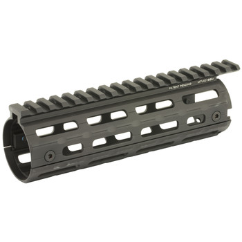 Leapers, Inc. - UTG UTG PRO Super Slim Drop In MLOK Rail System, AR-15, Carbine Length, Black MTU001SSM, UPC :4717385552937