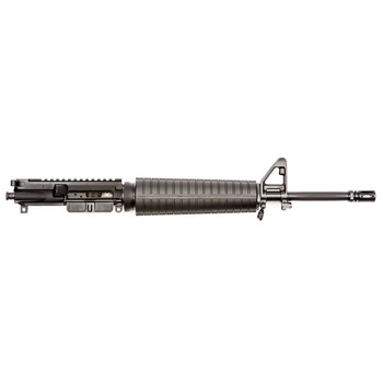 "Spike's Tactical Upper, 223 Rem/556NATO, 16"" FN Hammer Forged Barrel, Fits AR Rifles, Mid-length, Front Sight Post, Black Finish STU5435-MLS, UPC :815648023317"