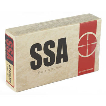 Silver State Armory 6.8SPC, 110 Grain, Soft Point, 20 Round Box 75025, UPC : 054041750257