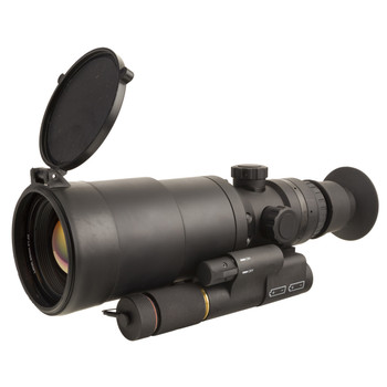 Trijicon Electro Optics IR Hunter MK3, Thermal Weapon Sight, 4.5X Optical Magnification, 36X Digital Magnification, 60mm Objective, Simple And Complex Reticles, Black Finish, 640x480 Pixel Digital OLED Display, 60Hz Frame Rate With 30Hz Power Save Mo