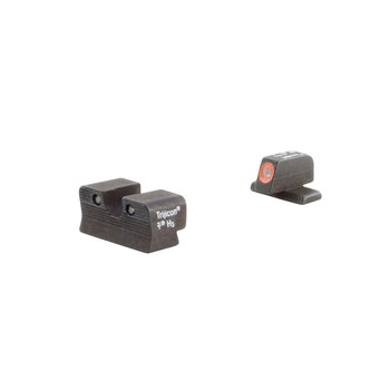Trijicon HD Tritium Night Sights, Fits Sig P225,226,228,239, Orange Outline SG101O, UPC :719307209657
