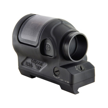 Trijicon SRS, Reflex Sight, 1.75MOA, Powered by a Solar Panel and Single AA-battery, Quick Release Flattop Adapter, Matte Black Finish SRS02, UPC :719307630017