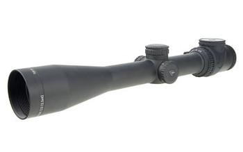 Trijicon AccuPoint Rifle Scope, 2.5-12.5X42, Standard Duplex Crosshair w/ Green Dot, 30mm Tube TR26-C-200098, UPC :719307401747