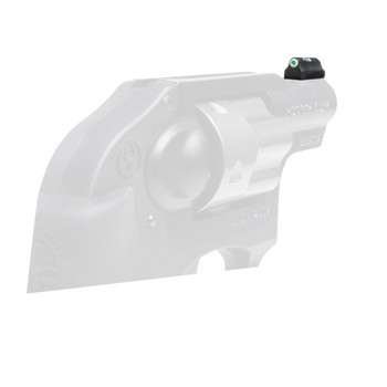 XS Sights XS Sights, Standard Dot Tritium, Front Sight, Fits Ruger LCR, .38/.357 Only, Not .22 or 9mm, Green with White Outline RP-0008N-4, UPC :647533038317