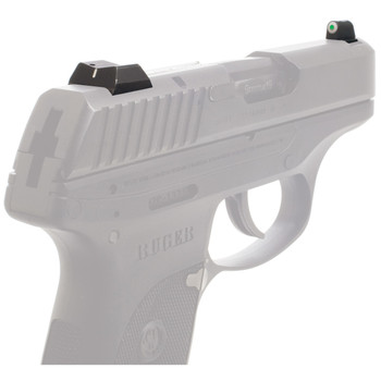 XS Sights XS Sights, DXW Big Dot Tritium Front, White Stripe Express Rear, Fits Ruger LC9, LC9s  LC380, Green with White Outline, Installation Kit Included RP-0009S-3, UPC :647533041027