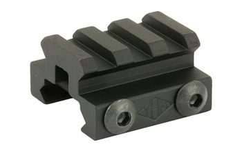 "Yankee Hill Machine Co Mini Riser, Mount, 1 1/4"", Black, Picatinny YHM-226, UPC :816701014297"