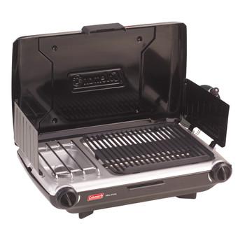 Coleman 2 Burner Grill Stove Combo Black 2000020929, UPC : 076501221657