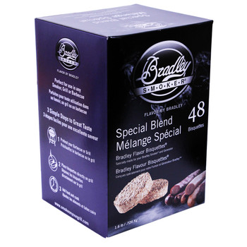 Bradley Special Blend Bisquettes 48 Pack, UPC :689796220887