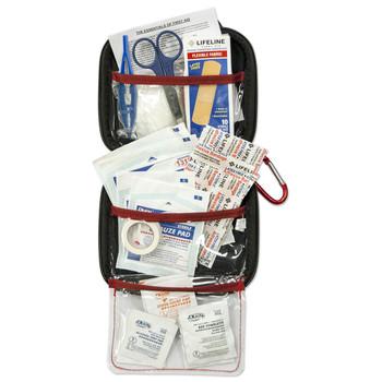 Lifeline Med Hard Shell Foam First Aid Emergency Kit 53Units, UPC : 091966044047