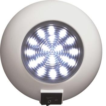 SeaSense Surface Mount 18 LED Super Bright Light - White, UPC :737765238507