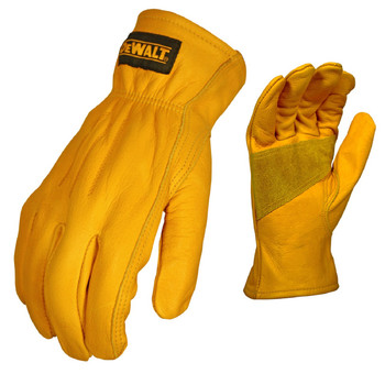 DeWalt Premium AB Grade Leather Cowhide Gloves - Large, UPC :674326217987