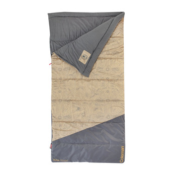Coleman Big-N-Tall 30 Sleeping Bag Tan Fits up to 6ft 7in, UPC : 076501136067