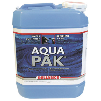 Reliance Water-Pak Water Container 2.5 Gallon, UPC : 060823971307