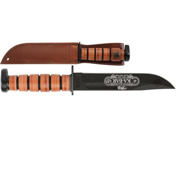 Ka-Bar 9193 120th Anniversary Dog's Head Commemorative Knife, UPC :617717291937