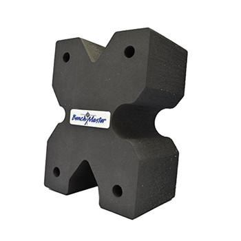 Benchmaster Weapon Rack X-Block -Gun Rest - Bench Shooting, UPC :751710506787