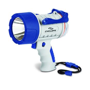 Cyclops 300 Lumen Rechargeable Waterproof Spotlight - Marine, UPC :888151013397