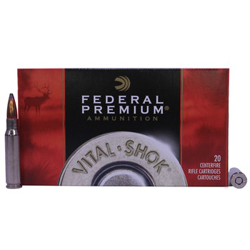 Federal Premium Vital-Shok Ammunition 308 Winchester 180 Grain Nosler Partition Box of 20, UPC : 029465088507
