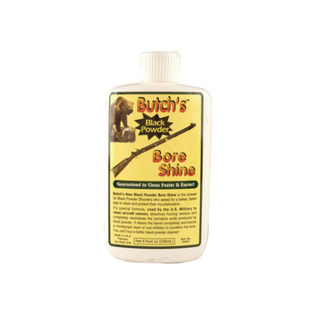 Butch's Bore Shine Black Powder Bore Cleaning Solvent 8 oz Liquid, UPC : 044717029497
