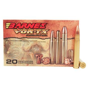 Barnes VOR-TX Safari Ammunition 416 Remington Magnum 400 Grain TSX Hollow Point Flat Base Lead-Free Box of 20, UPC :716876141647