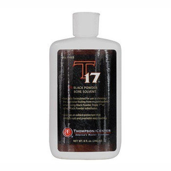 Thompson Center T-17 Black Powder Bore Solvent 8 oz, UPC : 090161033467