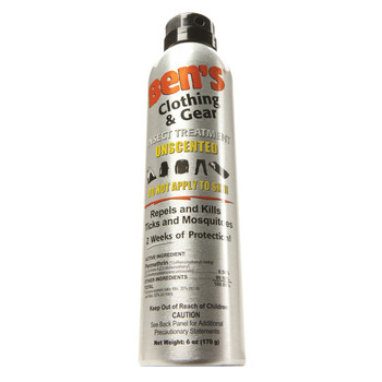 Ben's Clothing and Gear Insect Repellent 0.5% Permethrin Spray 6 oz, UPC : 044224076007
