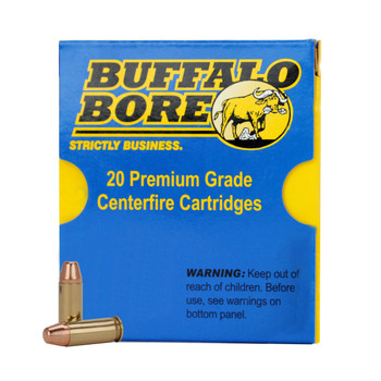 Buffalo Bore Ammunition 9x18mm (9mm Makarov) 115 Grain Hard Cast Lead Flat Nose Box of 20, UPC :651815034027