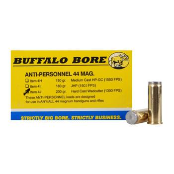 Buffalo Bore Ammunition 44 Remington Magnum 255 Grain Lead