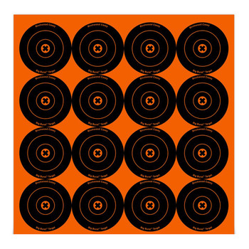 "Birchwood Casey Big Burst BB3 3"" Bullseye Target Pack of 48, UPC : 029057363487"