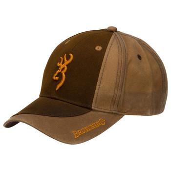 CAP TWO-TONE WAX DK BROWN/BRN, UPC : 023614424987